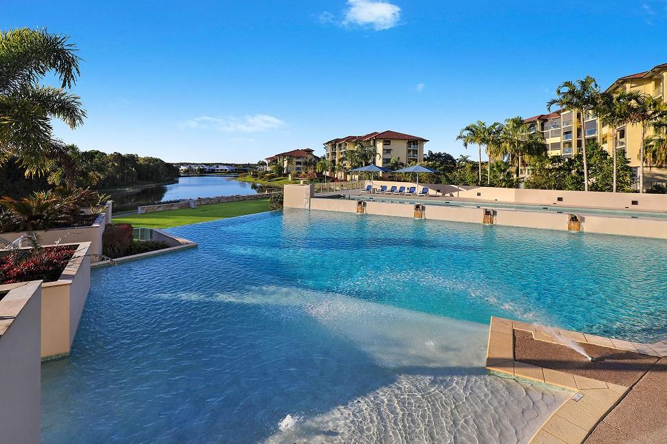 Pelican Waters Resort Lagoon Pool